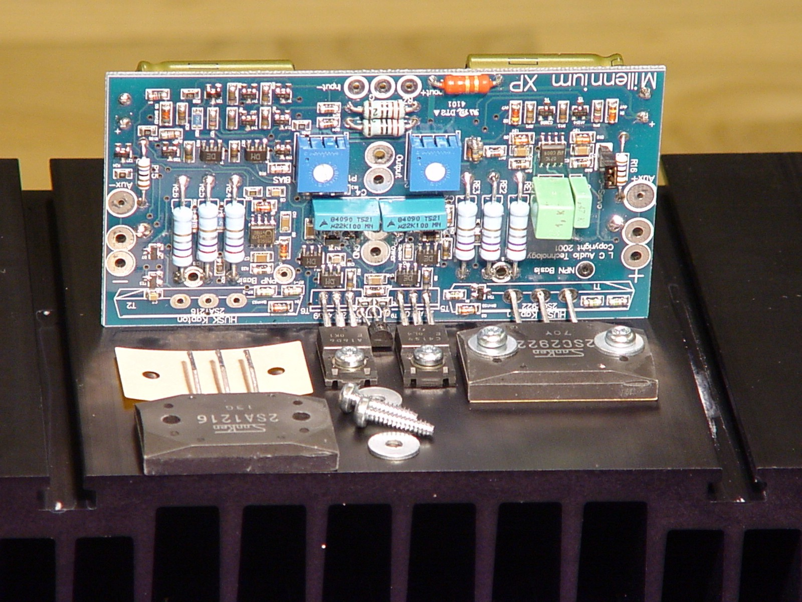 L C Audio Technology Millennium X 300w High Power Amplifier Diy Circuit Click To Enlarge Photo